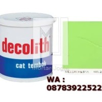 Cat Tembok Decolith Melon Fiesta