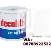 Cat Tembok Decolith Light Yellow