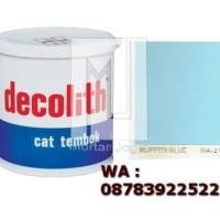 Cat Tembok Decolith Buffer Blue