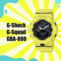 NEW Jam Tangan Pria Casio G Shock GBA 800 Yellow Ori Bm For Running
