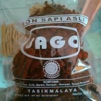 Abon Jago 100 gr Xtra bawang goreng