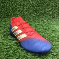 Sepatu Bola Replika Import Adidas Nemeziz Messi 18 1 Blue Red Volt