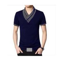 Anvi Baju Pria Victor / Kaos Korea / Lengan Panjang / Lengan Pendek /