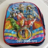 Tas Sekolah Anak Laki-laki Ransel Backpack Superhero Avengers