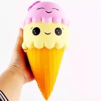 Mainan Squishy Ice Cream Squishy Es Krim Slow Rising Jumbo
