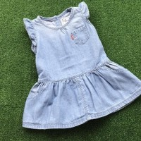 Baby girls soft denim Levi's dress