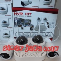 Premium werles cctv NVR 4chanel IPcam 2megapixel