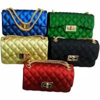 TAS JELLY Matte CLASSIC Mini kotak tas jelly maxi sling
