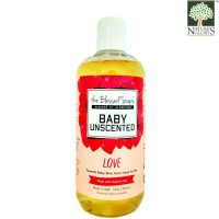 [ 12 Oz ] The Blessed Soaps Unscented Baby Love Pure Castile Soaps