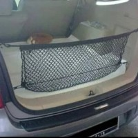 Cargo net jaring bagasi belakang mobil Innova Rush Yaris Fortuner