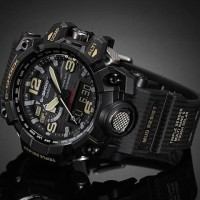 ORIGINAL BERGARANSI Casio G-Shock MUDMASTER Black GWG-1000-1ADR