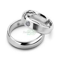 Cincin Kawi tunangan Couple Sepasang Perak 925 - Makalohi