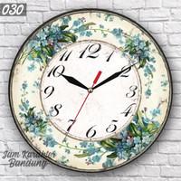 030 Jam Dinding Unik Keren Simple Elegan