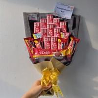 Snack Bouquet / Buket Snack / Buket Makanan / Snack Bucket / Kitkat