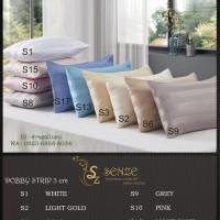 Sprei Tencel by REGALINEN 180x200 King - Dobby stripe 3cm (ES)