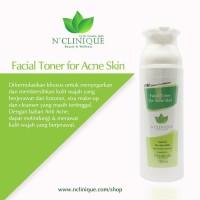 Toner wajah khusus kulit berjerawat/menghilangkan jerawat/N'clinique