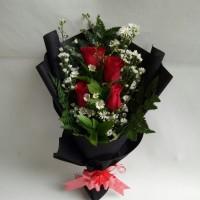 Bucket wisuda bunga mawar asli buket bunga wisuda hand bouquet florist
