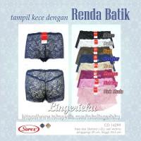 Celana Dalam Wanita Seksi Transparan Lembut Brokat Batik Sorex 16299