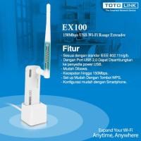 Totolink EX100 WiFi Range Extender Repeater 150Mbps USB Power