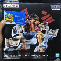 One Piece Story-Age Monkey D. Luffy