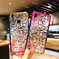 Vivo V9 V 9 2018 Silicone 3D Diamond Rainbow Luxury Soft Case