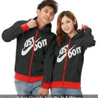 jaket couple just do it | jaket nike | jaket keren | jaket pasangan