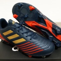 Sepatu Bola - Soccer Adidas Predator New Look Navy Gold Red - FG