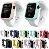 Silicone Bumper Case Soft Case Protector APPLE WATCH 40MM series 4 5 6