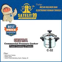 GETRA C-32 Commercial Pressure Cooker atau Alat Presto