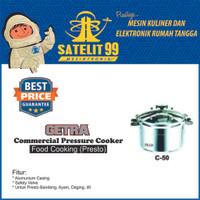 GETRA C-50 Commercial Pressure Cooker atau Alat Presto