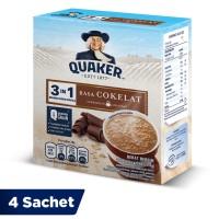 Quaker 3in1 Cokelat Box 4 Sachets