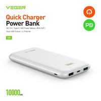 Power Bank VEGER ULTIMATE Q10 Kapasitas Besar 10000 mAh