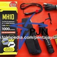 premium Senter Led Cree XM L2 U2 NITECORE MH10