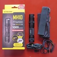 premium NITECORE MH10 Senter LED CREE XM L2 U2 1000 Lumens Waterproof