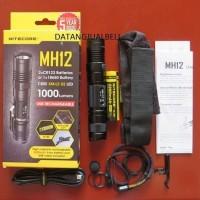 premium NITECORE MH12 Senter LED CREE XM L2 U2 1000 Lumens Waterproof