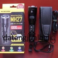 premium NITECORE MH27 Senter LED Waterproof 1000 Lumens