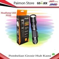 premium Fenix Senter LED PD35 Tactical Edition