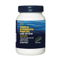GNC Triple Strength Fish Oil With COQ 10