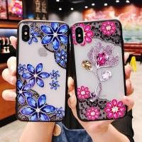 Casing Case Lace Flower Cover untuk Xiaomi Redmi 4A 4x 5A 6A