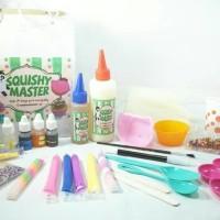 Bahan Dan Peralatan Alat Membuat Pembuat Pembuatan Squishy Maker Kit