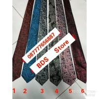 Dasi pria import motif batik uk 3 inch