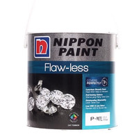 Nippon Paint Flawless Cat Tembok Tinting 20L Grey Suit (2027P)