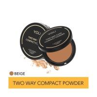 YOU Make Ups - Two Way Compact Powder