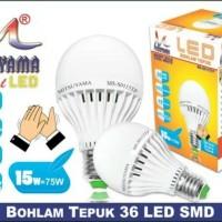 Bohlam LED Sensor Tepuk 15W MS-S0115TP MITSUYAMA