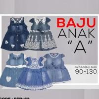 BAJU FASHION DRESS ANAK PEREMPUAN A (FSB-62)