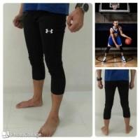 Celana Legging Baselayer Leging Manset Olahraga Gym Training 7/8