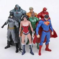 Justice league DC figure superman batman set 7 bh