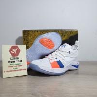 Sepatu Basket Nike Paul George PG 2 The Bait White Free Gelang