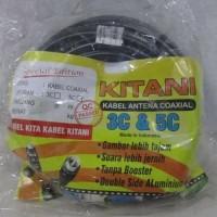 Kabel Antena TV 5C 10M KITANI (Very High Quality)