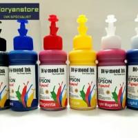 Tinta Pigment Epson Diamond Ink Photo Quality (1 Paket 6 Warna)